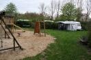kampeerplaats aan de speeltuin